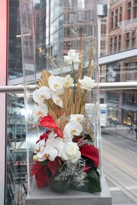 VIP Holiday Window Unveiling  photo Hudson's Bay install christmas   11.jpg