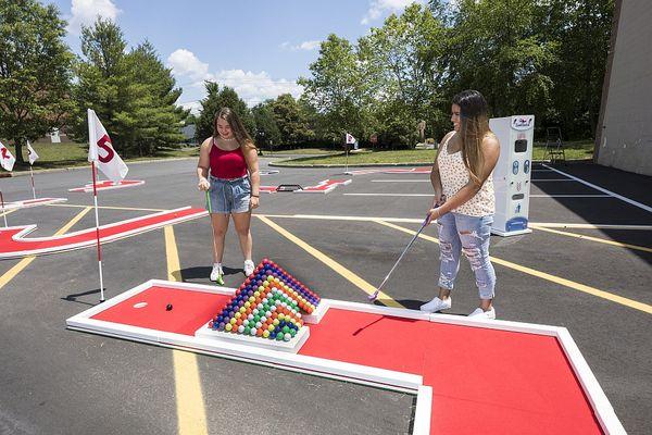 Authentic Putt Putt Golf: Mini-Golf-Rental-NJ-Pyramid-Hole.jpg