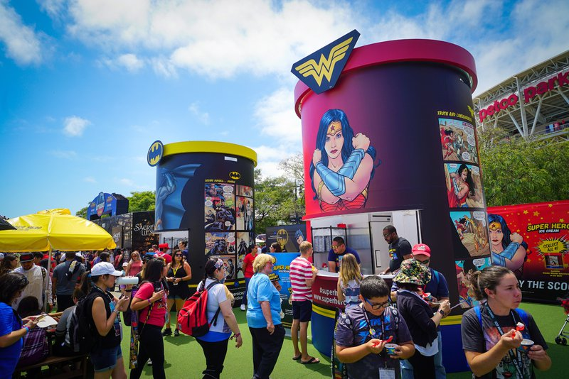 DC Comics @ Comic Con cover photo