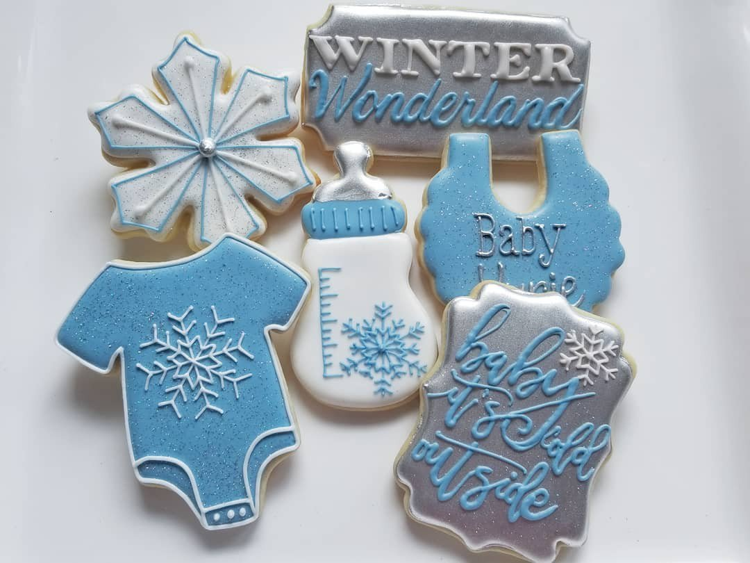 Custom Cookies for your special event! photo jill baby it's cold outside bottle snowflake shower winter wonderland.jpg