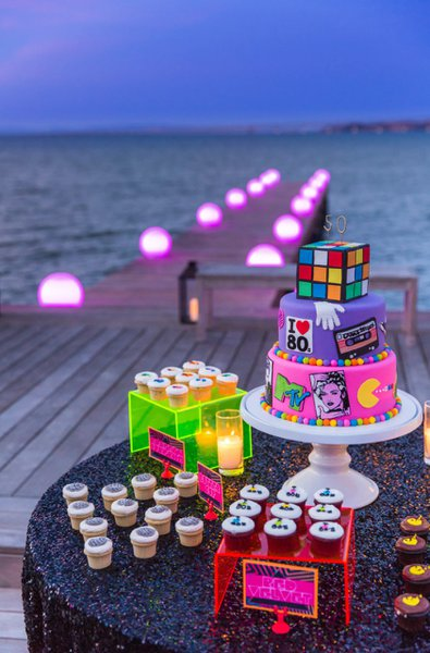 80's Themed 50th Birthday Party cover photo