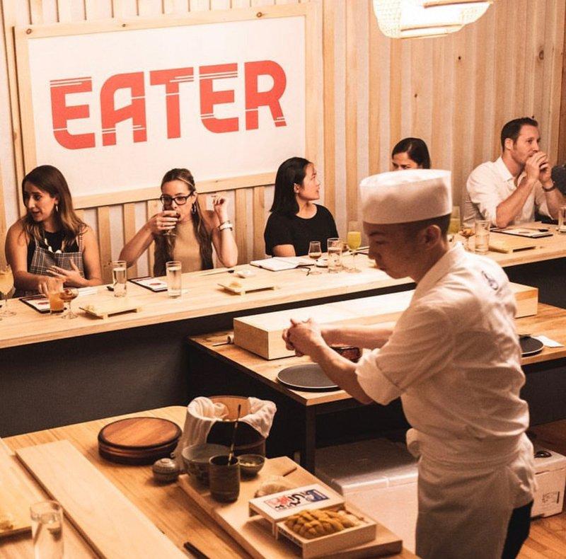 Eater x Hennesy Omakase Pop Up Dinner cover photo
