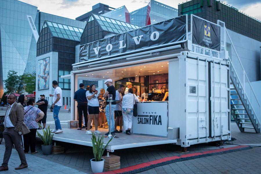 Volvo FIKA Lounge