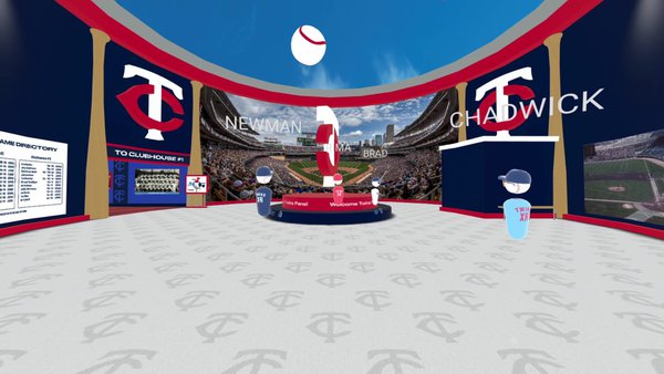 Twins XR: Virtual Hall of Fame