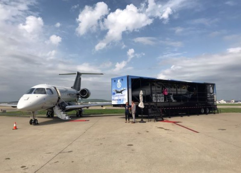 Embraer - Phenom 300E Mockup  cover photo