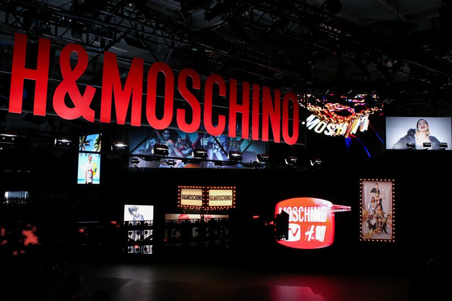 H&M x Moschino Fashion Show