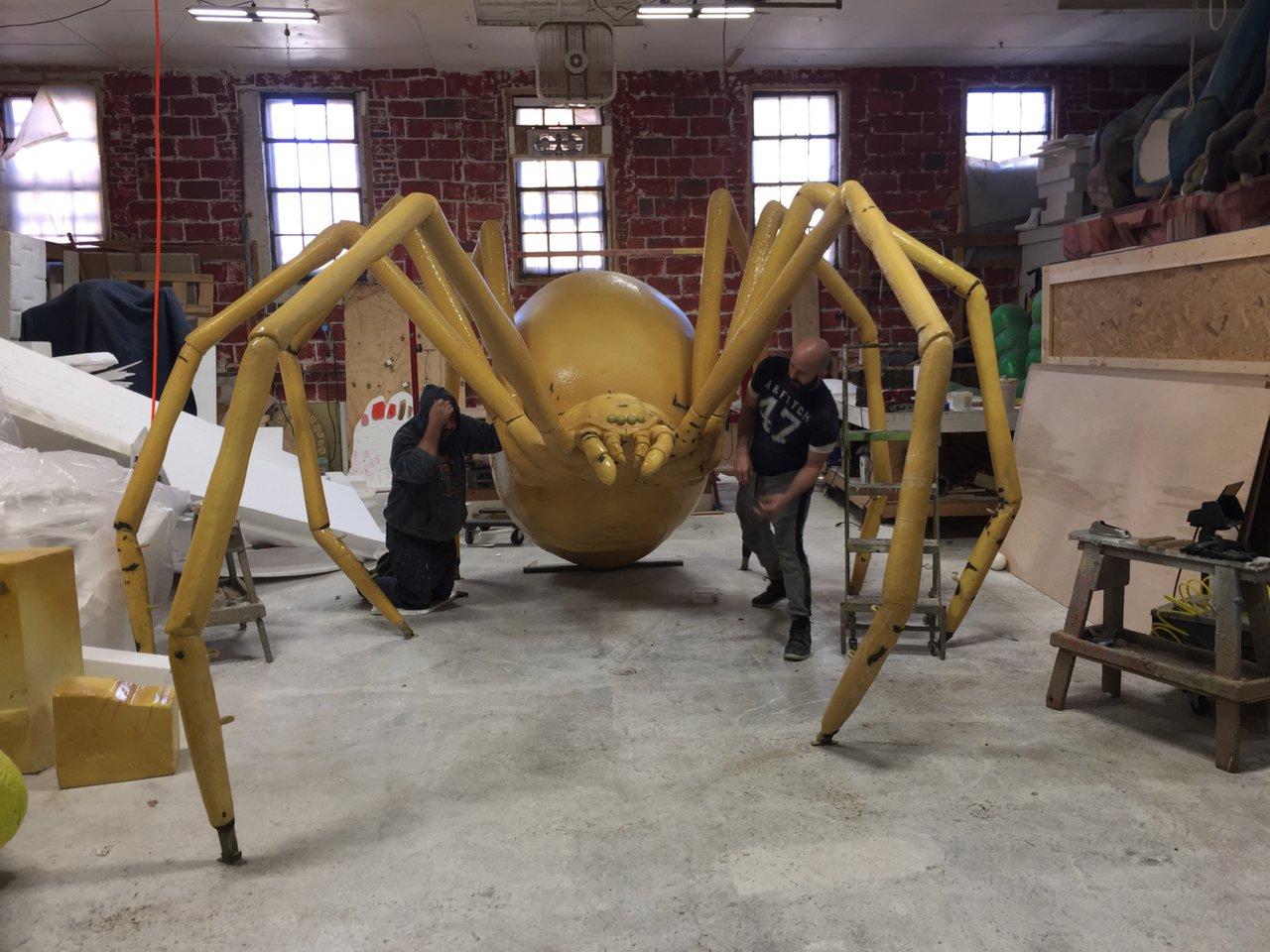 GIGANTIC Black Widow Spider Sculpt photo C62413BF-73BA-47D5-ADC2-2E221E326288.jpg