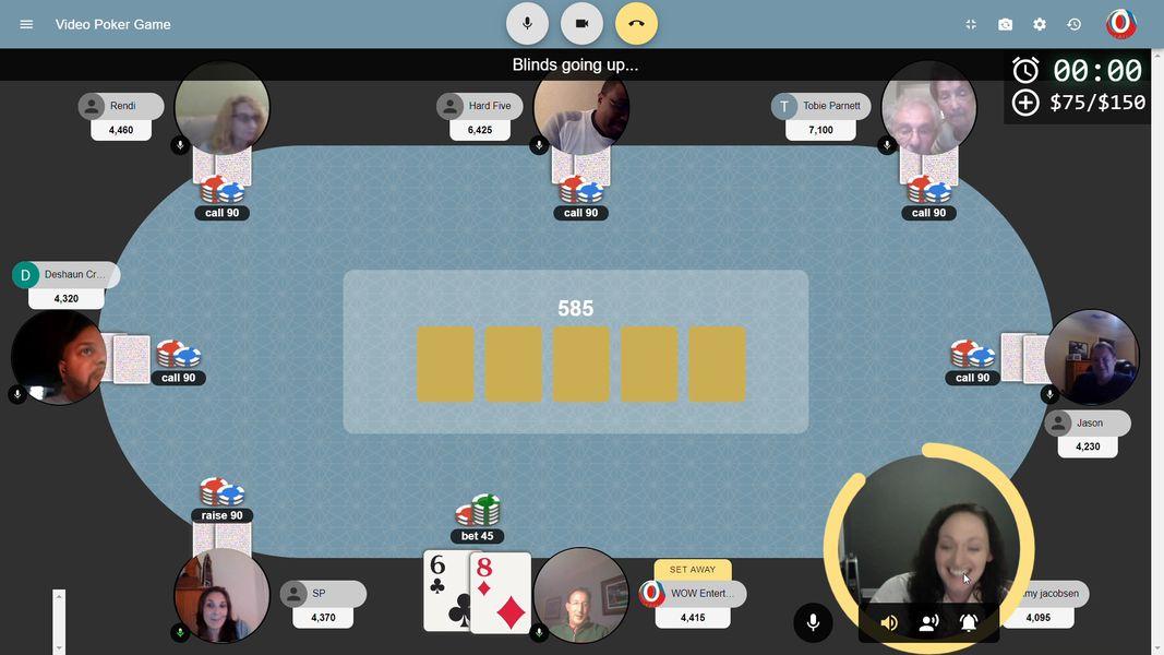 Virtual Immersive Poker Experience service