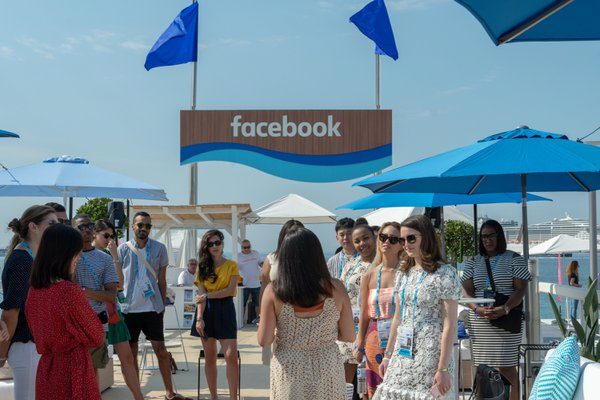 Facebook @ Cannes cover photo
