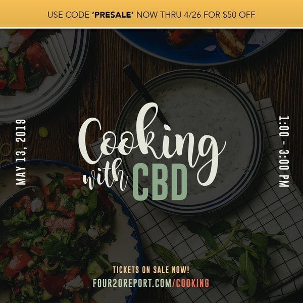 Cooking with CBD cover photo