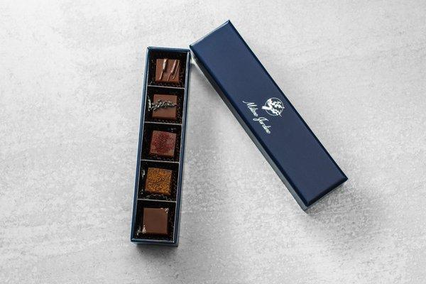 Gourmet Chocolate Tasting: 5pc live by love.jpg