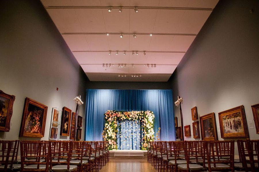 Dexter Hall Wedding Ceremony