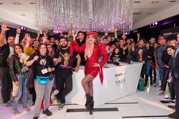 Amazon Beauty x HAUS Laboratories Pop-up