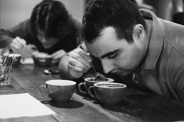 The Virtual Slurp! Coffee Tasting photo Coffee cupping LACA.jpg