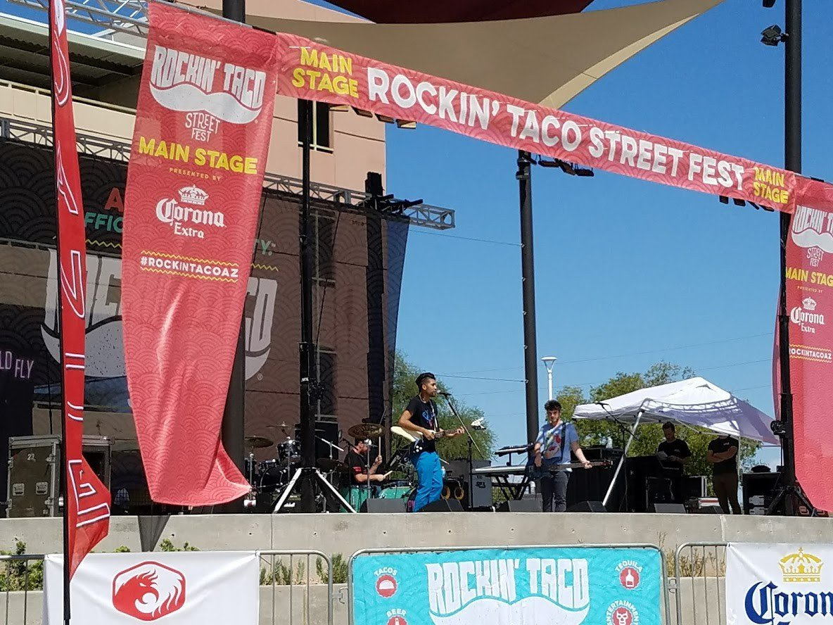 RockinTaco w Roger Clyne & Reel Big Fish photo Rockin Taco street fest 2.jpg