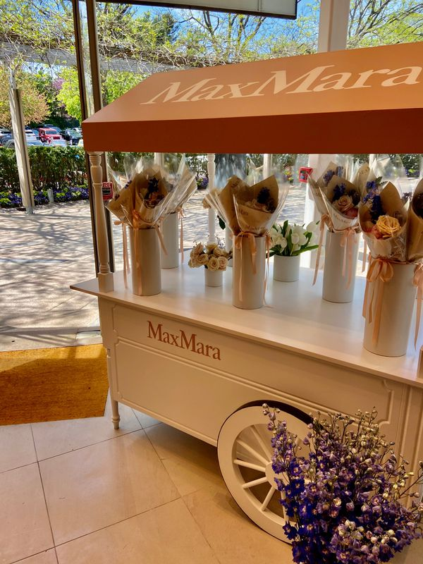 Max Mara Mother's Day Activation