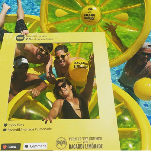 Turn up the summer with Barcdi Limonade  cover photo