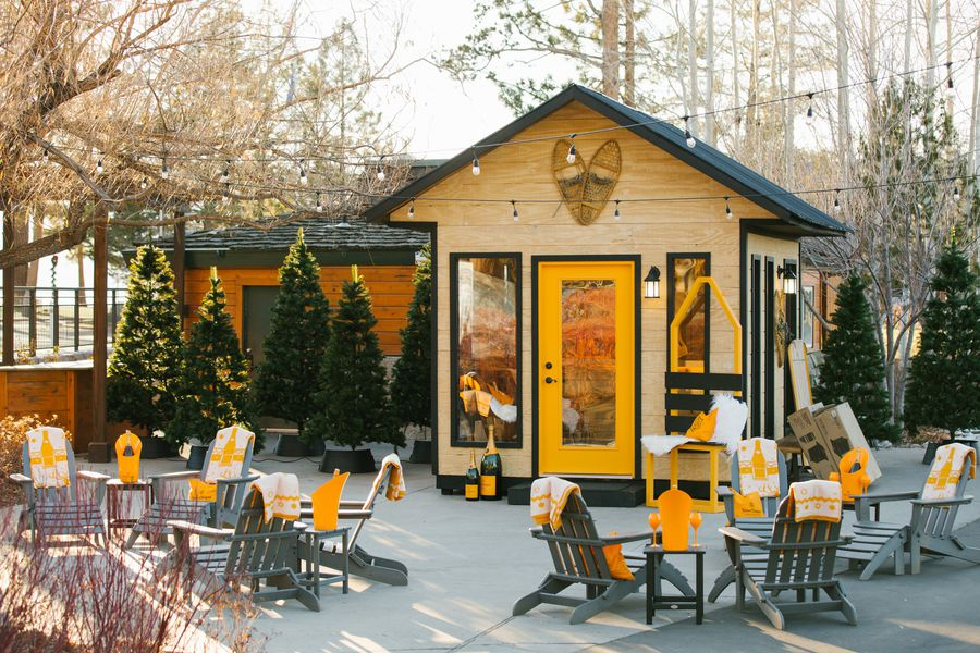 Champagne Chalet