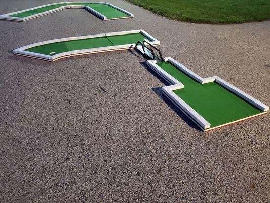 Authentic Putt Putt Golf: Mini-Golf-Rental-Philly-Green-Fairway-Drawbridge-Obstacle-Front-View.jpg