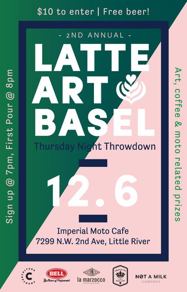 Latte Art Basel cover photo