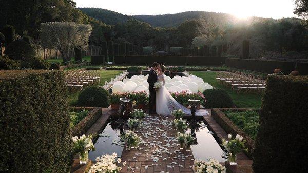 Filoli Gardens Editorial Shoot: Pond Cer cover photo