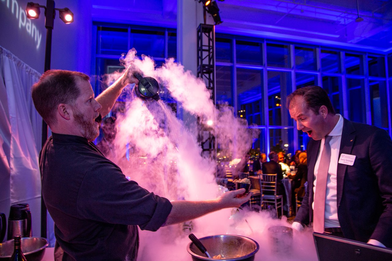 Weber Metals Grand Press Unveiling photo Wow Factor at Weber Metals Grand Reveal Dinner Party.jpg