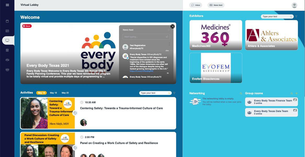 Virtual Event Platform  service