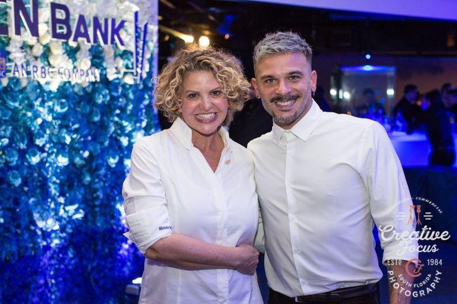 CN Bank Reception In Blue   Miami