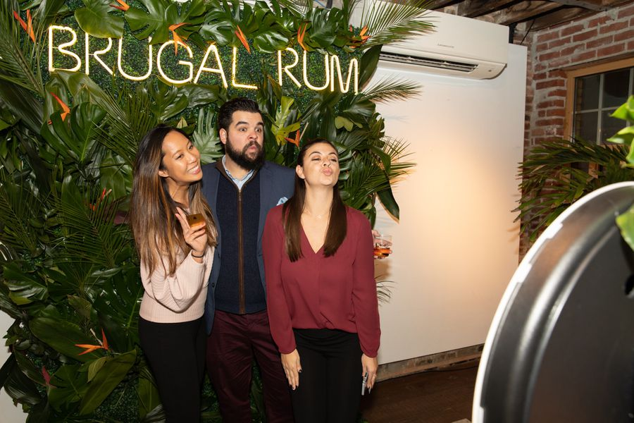 Brugal Papa Andres Launch