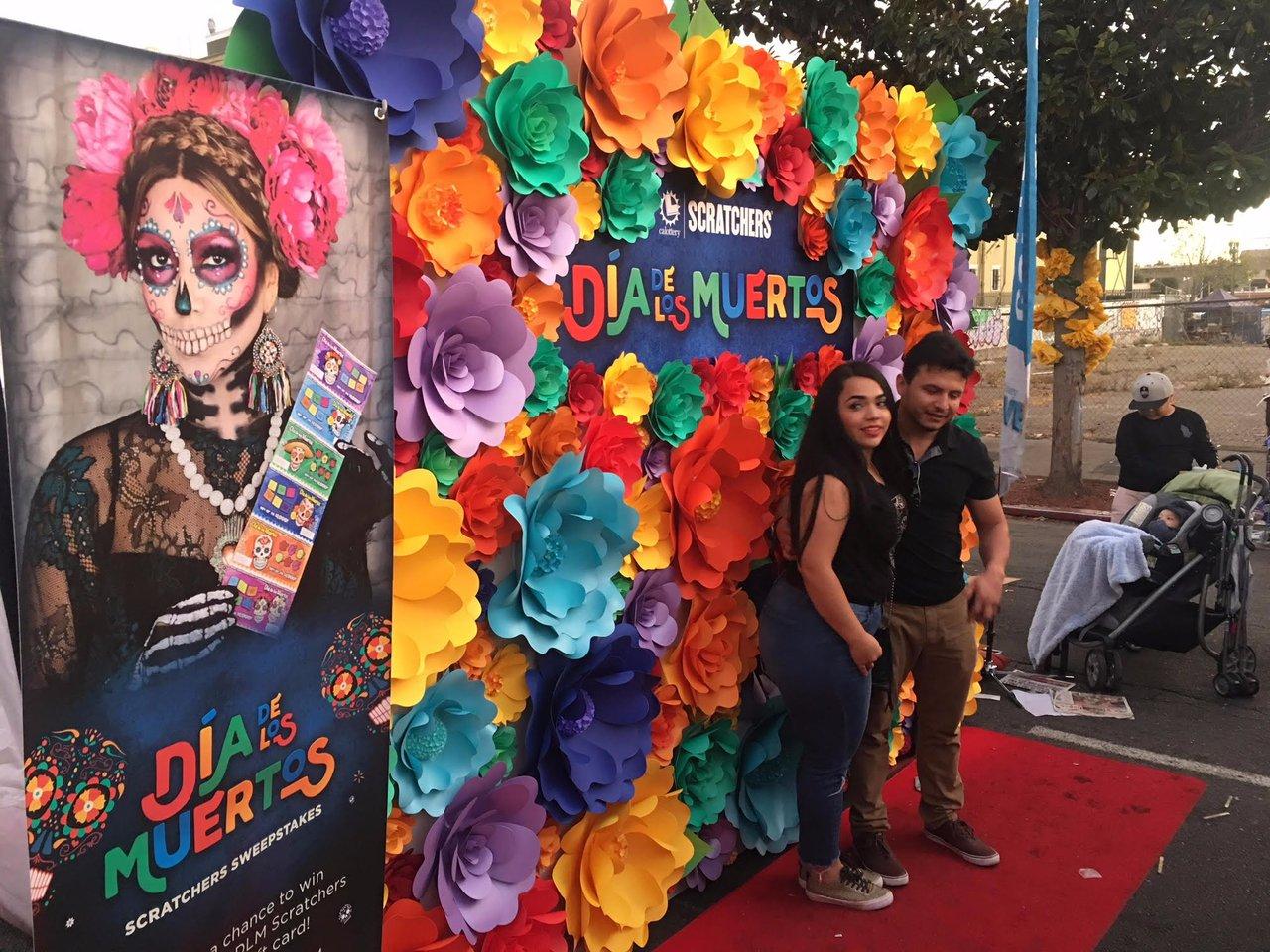 Dia De Las Muertos photo California Lottery Wall 3.jpg
