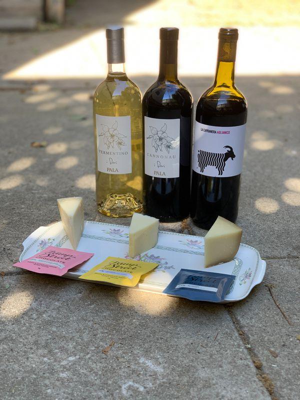"""Around the World"" Wine Tasting service"