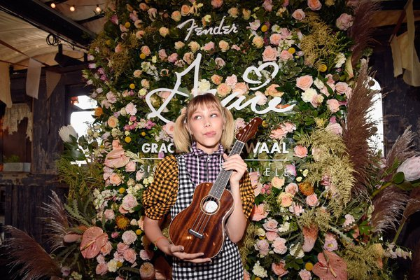 Fender x Grace Vanderwaal Ukulele Launch cover photo
