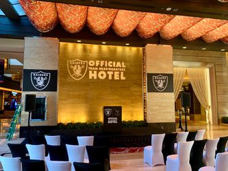 The M Resort, Official Raiders Hotel