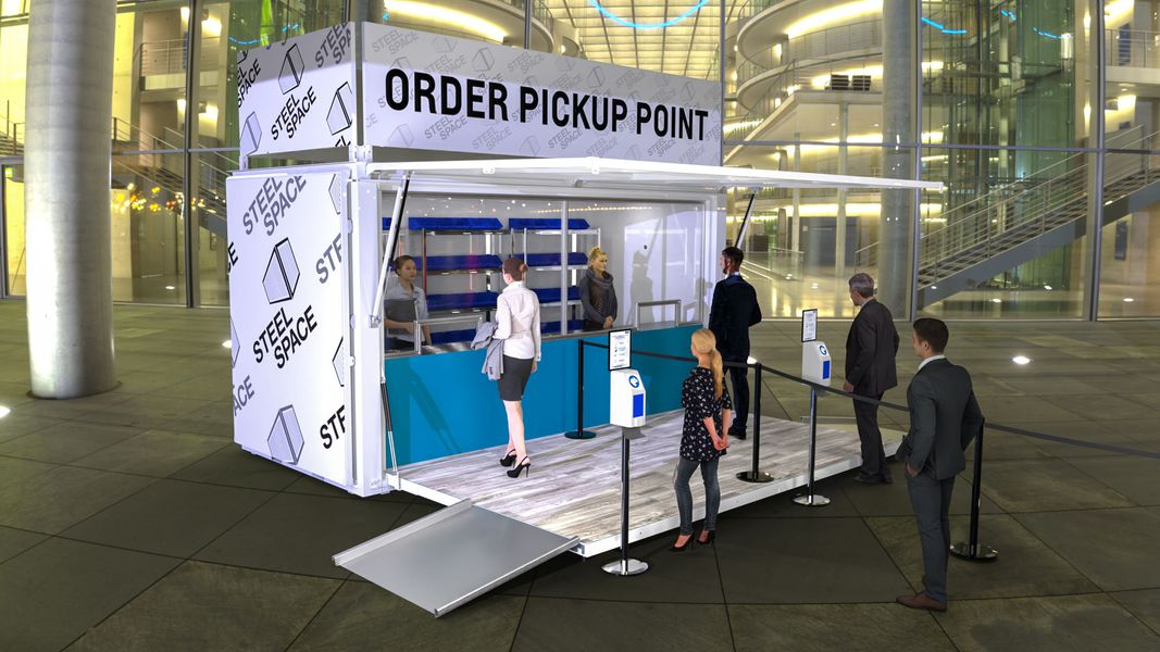 Specialized Order Pickup Point service
