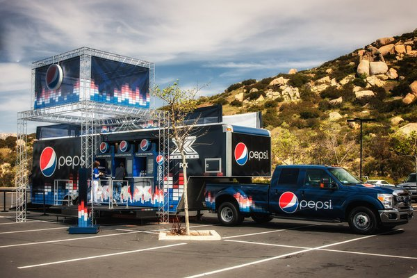 Pepsi @ X Factor cover photo