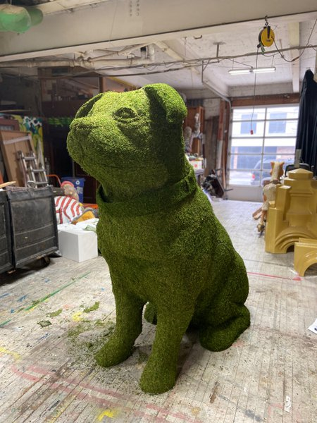 Fomo - 8 ft. Topiary Dog Sculpt cover photo
