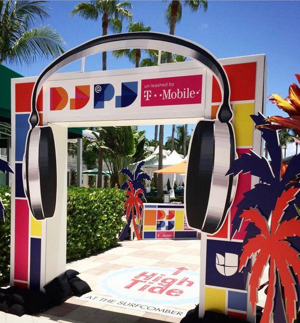 Univision DJ @ PJ pool Party