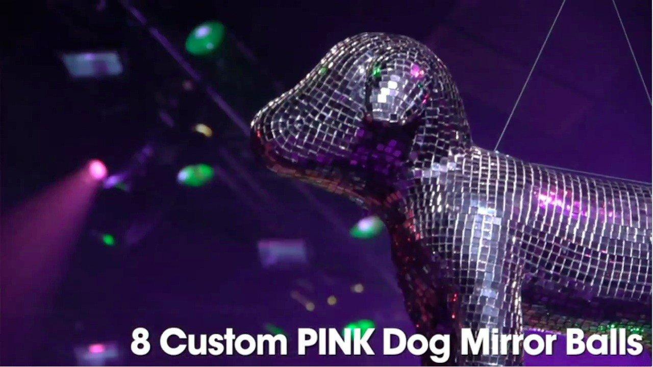 Victoria's Secret PINK Fashion Show  photo Victoria Secret Dogs 5.jpg