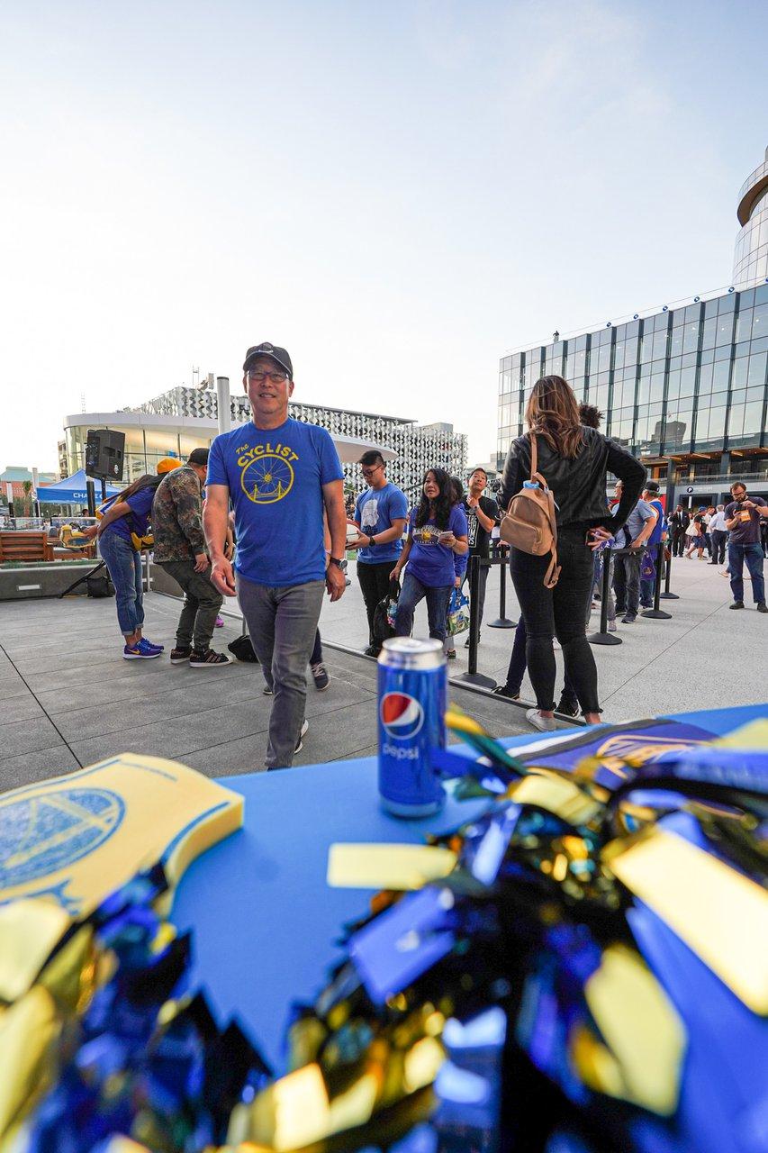 Pepsi at The Golden State Warriors Game photo OHelloMedia-Pepsi-GoldenStateWarriorsTipoff-Select-22.jpg