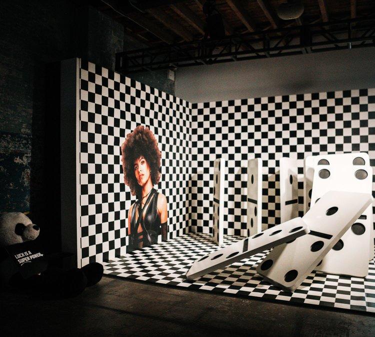 DP2: Believe In Your Selfie Museum photo 1555692652245_Rubik-Deadpool2-Domino-Room.jpg
