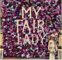 My Fair Lady on Broadway Flower Wall