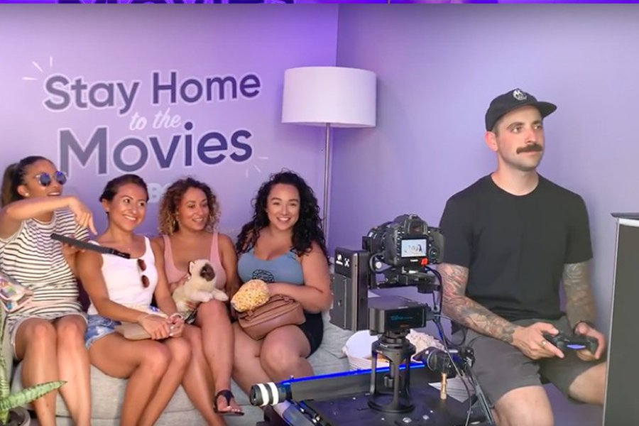 HBO Stay Home to the Movies Studio