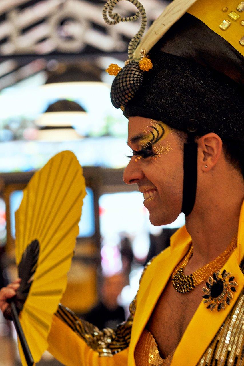 Pride Celebration at Westfield Center photo Bee_closeup.jpg