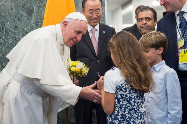Pope Francis's Visit to The UN cover photo