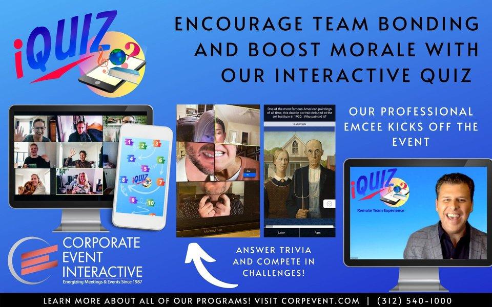 iQuiz Custom Team Event cover photo