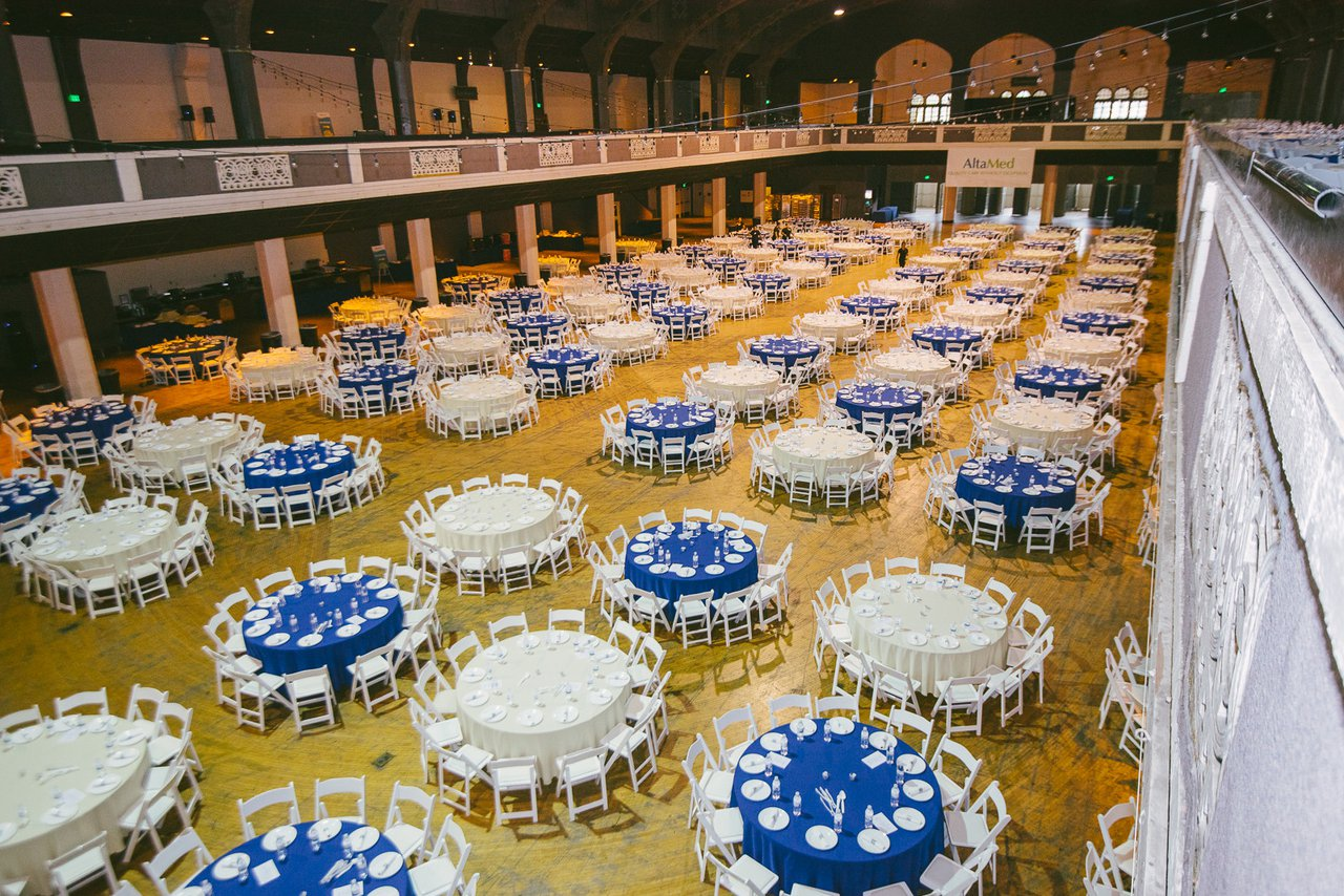 All-Hands Meeting for AltaMed photo Luncheon Set Up at The Shrine in Los Angeles.jpg