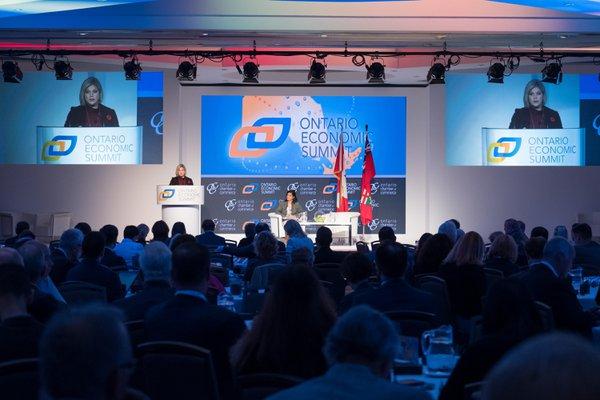 Ontario Economic Summit (OES) cover photo