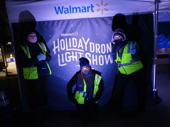 Holiday Drone Light Show