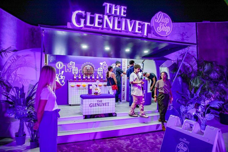 Glenlivet Drop Shop Airstream