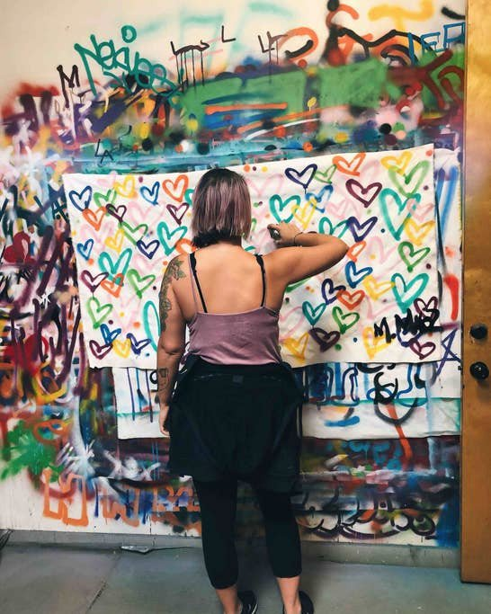 Spotify Graffiti Team Building  photo wip3.jpg